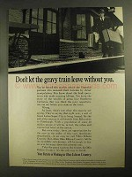 1968 Ohio Edison Ad - Don't Let Gravy Train Leave