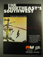 1968 Northeast Utilities Ad - The Northeast's Southwest