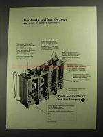 1968 Public Service Electric and Gas Company Ad - Local