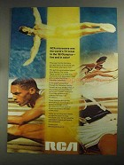 1968 RCA Microwave Ad - TV Ticket to '68 Olympics