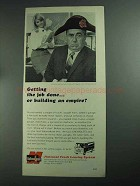 1968 National Truck Leasing System Ad - Jim Backus - Getting Job Done