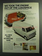 1968 Ford Econoline Vans Ad - Engine Out of Loadspace