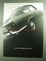 1968 Fiat 850 Fastback Coupe Car Ad