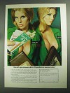 1968 Tiparillo Cigars Ad - Gentleman Offer Census Taker