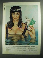 1968 Tiparillo Cigars Ad - Offer To a Marine Biologist