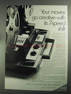 1968 Kodak Instamatic M95 Movie Projector Ad