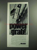 1968 Bauer E-160 Flash Ad - Power Grab!