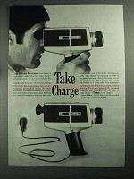 1968 Vivitar 84 Movie Camera Ad - Take Charge