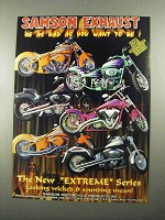2004 Samson Exhaust Extreme Series Ad - Be As Bad