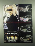 2004 Wiley X XL-2 Aluminum, SG-1 & XL-1 Sunglasses Ad