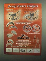 2004 Orange County Choppers Ad - Softail Frames