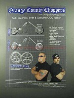 2004 Orange County Choppers Ad - Rigid