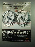 2004 Carriage Works Spider and Viking Wheels Ad