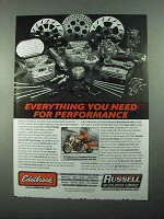 2004 Edelbrock and Russell Performance Parts Ad