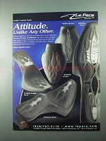 2004 Le Pera Custom Seats Ad - Serpent Inlay, Tribal +