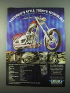 2003 Drag Specialties Motorcycle Parts Ad - Yesterday's