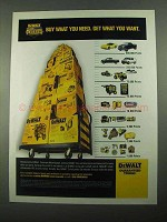 2003 DeWalt Tools Ad - Buy What You Need