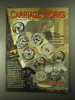 2001 Biker's Choice Carriage Works Wheels Ad