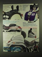 2001 Corbin Ad - Touring Saddle, Smuggler Tail Section