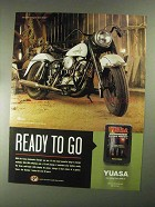 2001 Yuasa Automatic Battery Charger Ad - Ready to Go