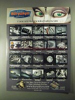 2001 Kuryakyn Motorcycle Parts Ad - Come See Me