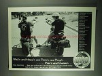 2001 Ultra Motorcycle Ad - Wish'n Hope'n and Think'n