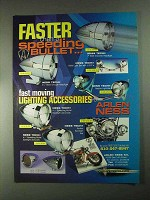 2001 Arlen Ness Lighting Accessories Ad - Faster Than