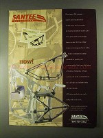 2000 Santee Ad - Rigid Frames, Oil Tanks, Swingarms
