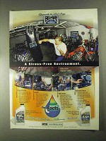 2000 Bel-Ray EXS Synthetic Motor Oil Ad - Stress-Free