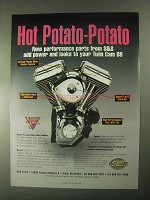 2000 S&S Performance Parts Ad - Hot Potato-Potato