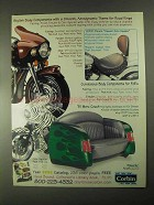 2000 Corbin Ad - Solo Saddle, '51 Merc Couch