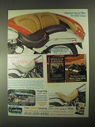 2000 Corbin Hollywood Solo & Pillion Motorcycle Seat Ad