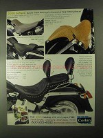 2000 Corbin Seat Ad - Hollywood Solo, Fast Gun, Stinger