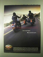 2000 Victory V92C and V92SC Motorcycles Ad - Mystique
