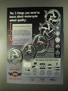2000 Carriage Works Wheels Ad - Hurricane, 5-Spoke