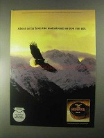 2000 Redwood Tobacco Ad - Far From The Mainstream