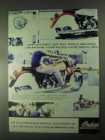 2000 Indian Chief Motorcycle Ad - Spirit Alive in Metal