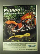 2000 Drag Specialties Python3 Pipes Ad - Survival