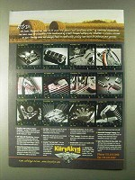2000 Kuryakyn Motorcycle Parts Ad - R&D