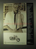 2000 American IronHorse Motorcycle Ad, Animal Instincts