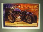 2000 Confederate Motorcycles Ad - 2001 Models