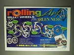 2000 Arlen Ness Rolling Billet Wheels Ad!