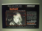 2000 Progressive Motorcycle Insurance Ad - Softail