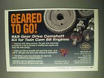 2000 S&S Gear Drive Camshaft Kit Ad - Geared to Go!
