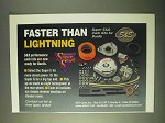 2000 S&S Super E&G Carb Kits Ad - Faster than Lightning