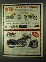 1999 Indian Chief Motorcycle Ad - Staz's Nevada
