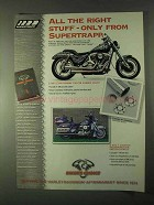 1999 Biker's Choice Supertrapp Exhaust Ad - Right Stuff