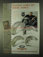 1999 Biker's Choice Jesse James Fenders Ad - Classic