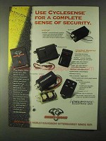 1999 Biker's Choice Cyclesense Motorcycle Security Ad