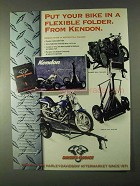 1999 Biker's Choice Kendon Motorcycle Trailers Ad